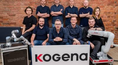 Kogena dostała 4,5 mln złotych na rozwój platformy do monitorowania pracy robotów