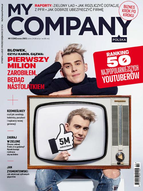 Miesięcznik My Company Polska - Wydanie 3/2021 (66)