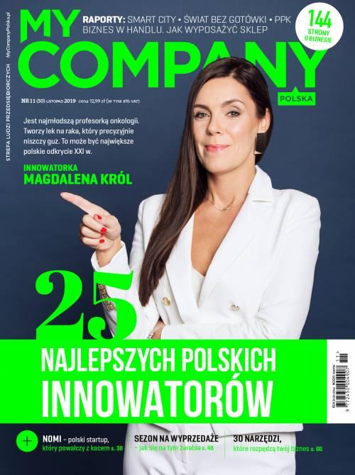 Miesięcznik My Company Polska - Wydanie 11/2019 (50)