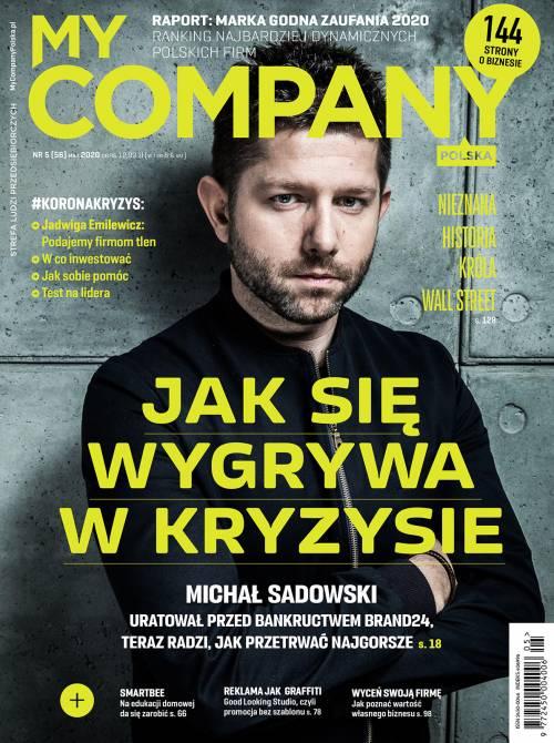 Miesięcznik My Company Polska - Wydanie 5/2020 (56)