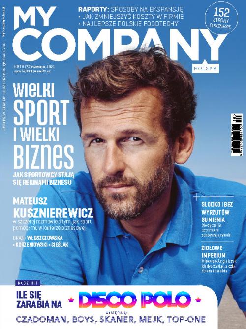 Miesięcznik My Company Polska - Wydanie 10/2021 (73)