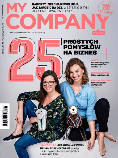 Miesięcznik My Company Polska - Wydanie 8/2020 (59)