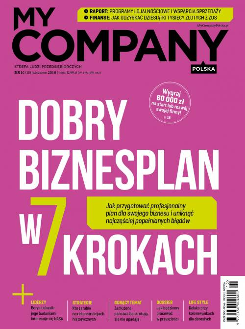 Miesięcznik My Company Polska - Wydanie 10/2016 (13)