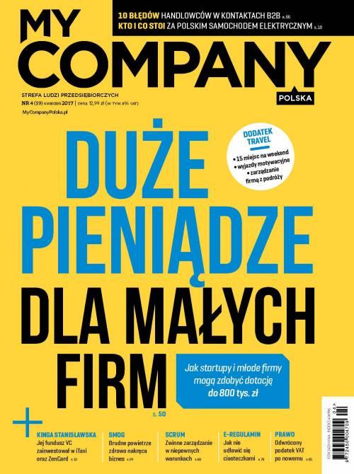 Miesięcznik My Company Polska - Wydanie 4/2017 (19)