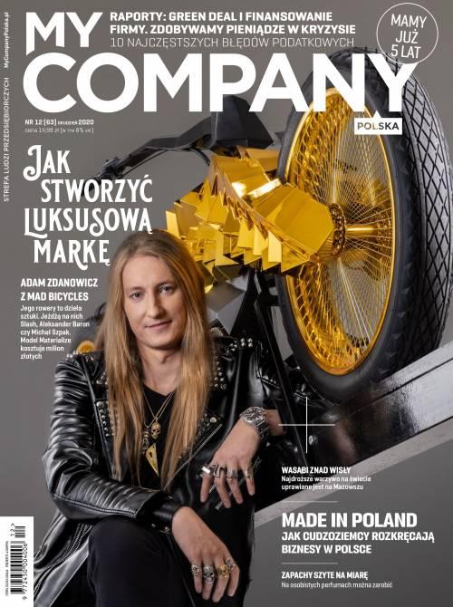Miesięcznik My Company Polska - Wydanie 12/2020 (63)