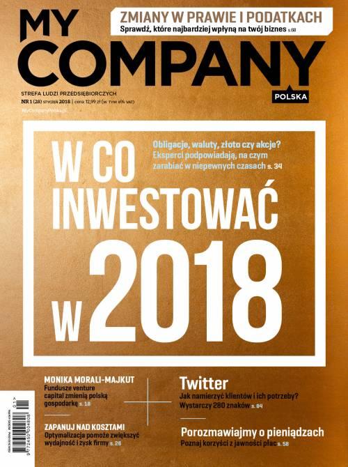 Miesięcznik My Company Polska - Wydanie 1/2018 (28)