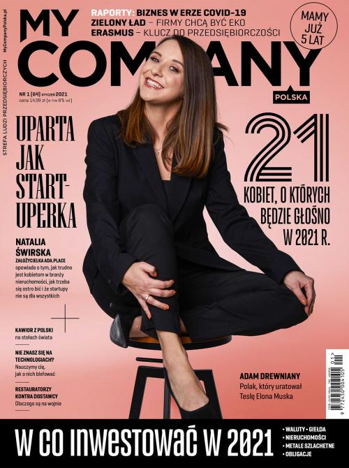Miesięcznik My Company Polska - Wydanie 1/2021 (64)