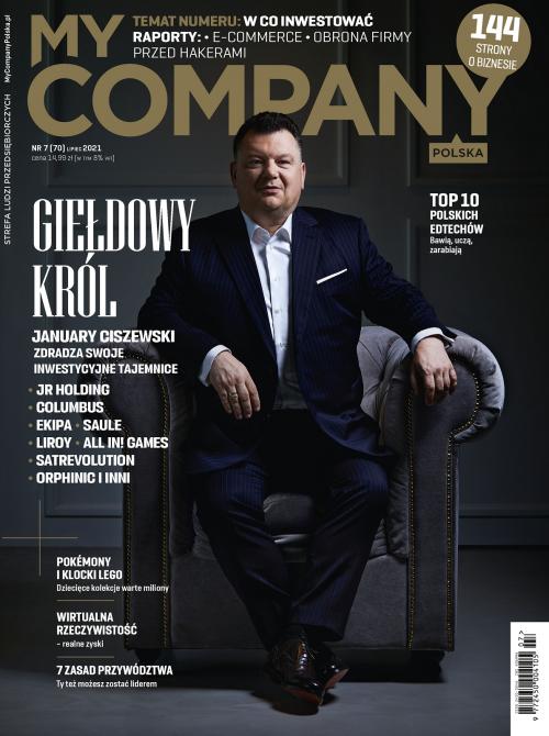 Miesięcznik My Company Polska - Wydanie 7/2021 (70)