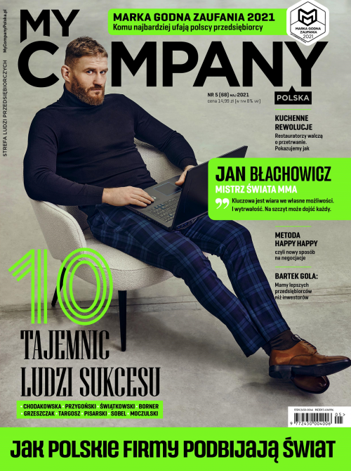 Miesięcznik My Company Polska - Wydanie 5/2021 (68)