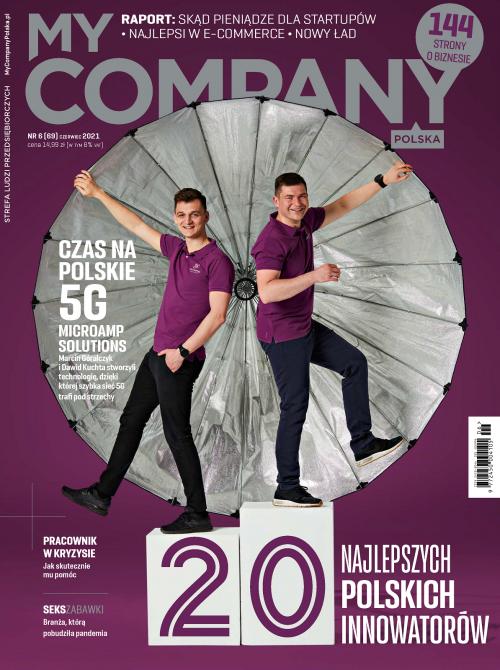 Miesięcznik My Company Polska - Wydanie 6/2021 (69)