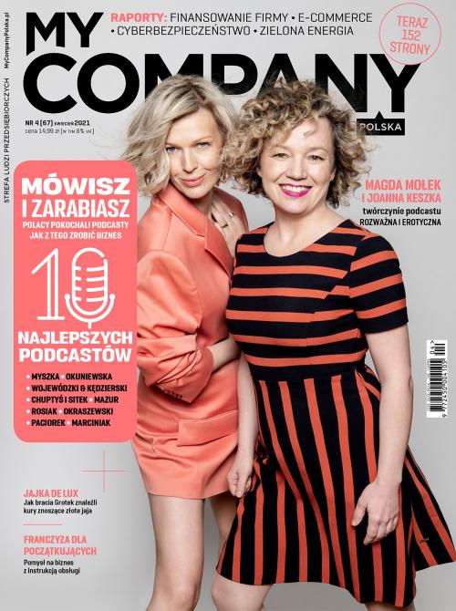 Miesięcznik My Company Polska - Wydanie 4/2021 (67)
