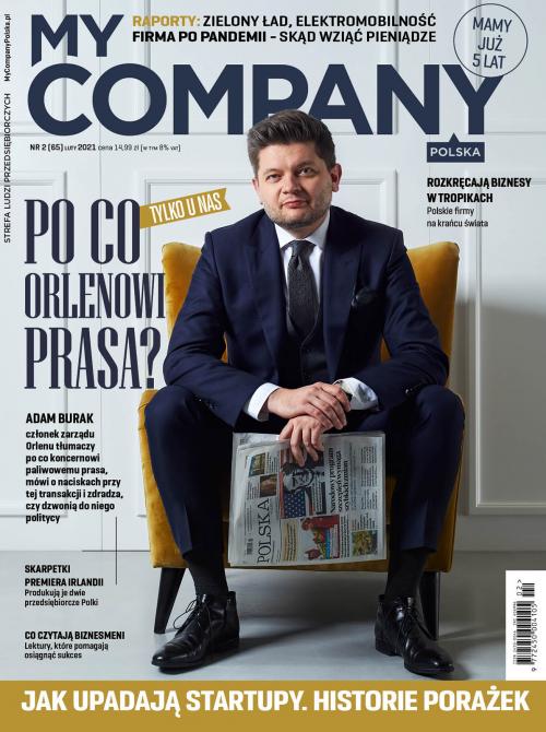 Miesięcznik My Company Polska - Wydanie 2/2021 (65)