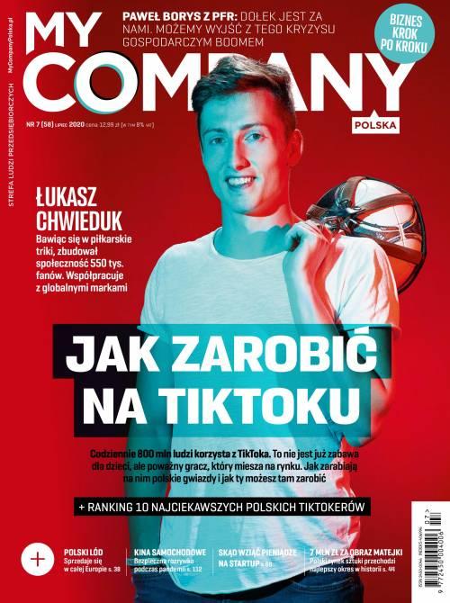 Miesięcznik My Company Polska - Wydanie 7/2020 (58)