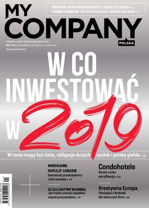 My Company Polska wydanie 1/2019 (40)