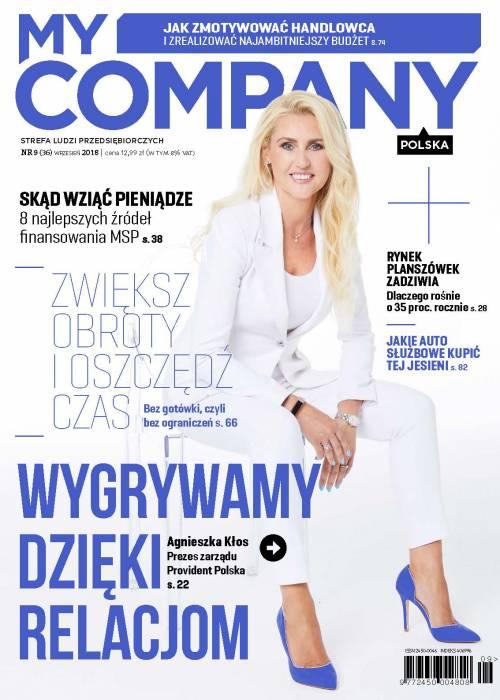 My Company Polska wydanie 9/2018  (36)