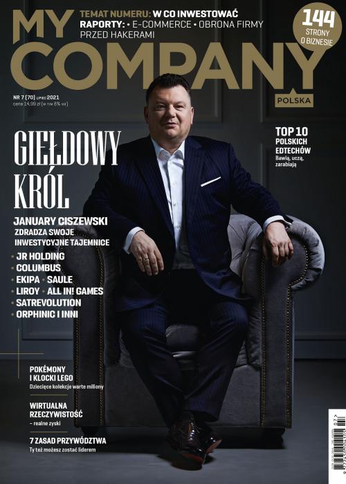 My Company Polska wydanie 7/2021 (70)