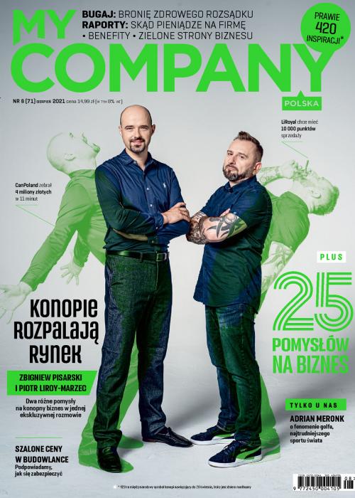 My Company Polska wydanie 8/2021 (71)