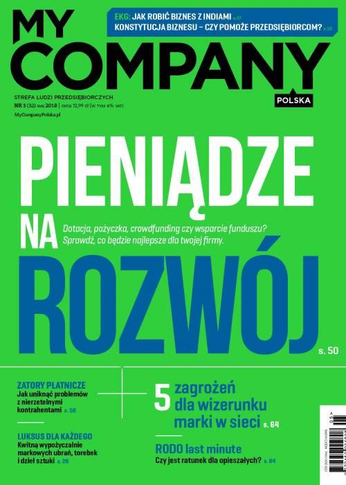 My Company Polska wydanie 5/2018  (32)