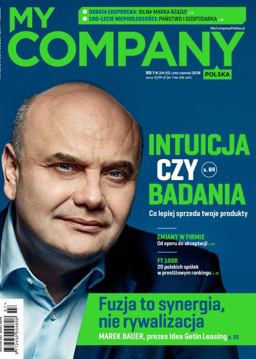 My Company Polska wydanie 7/2018  (34)