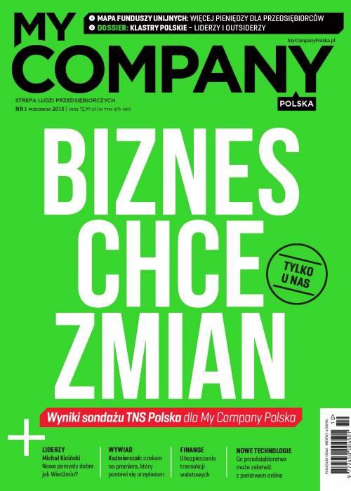 My Company Polska wydanie 1/2015 (1)
