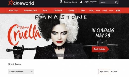 Sieć kin Cineworld wznawia działalność. Duży sukces