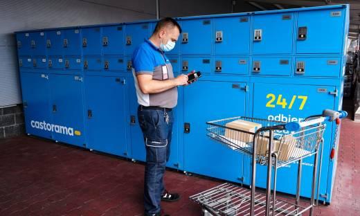 Castorama z własnym automatem do odbioru zakupów