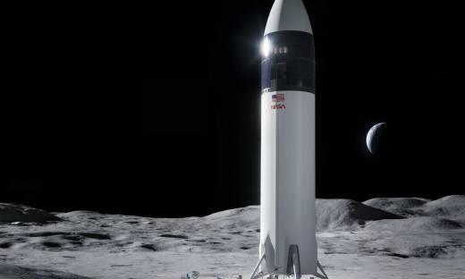 SpaceX wygrało kontrakt o wartości 2,9 mld dol. na lądownik księżycowy