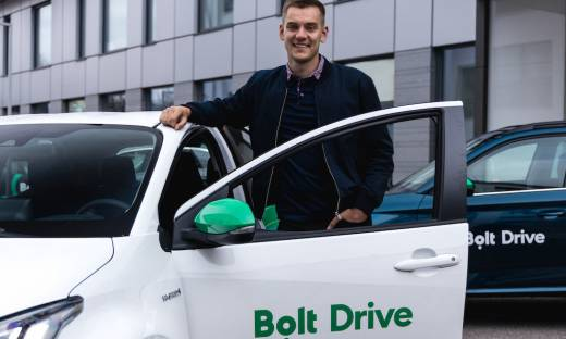 Bolt uruchomi wypożyczalnię aut na minuty. Zainwestuje 20 mln euro