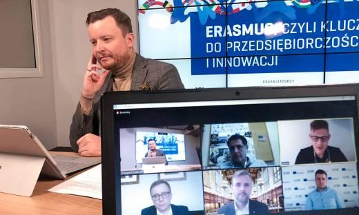 Erasmus a przedsiębiorczość