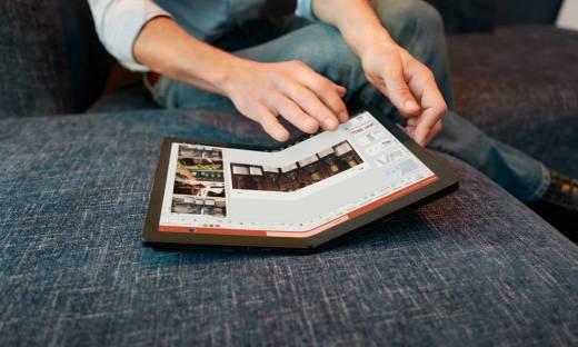 Lenovo prezentuje pierwszy na świecie składany komputer