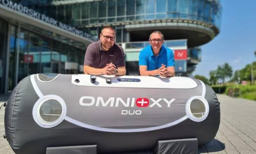 Omnioxy to lider sprzedaży komór hiperbarycznych w Polsce. Zabiegi mają pomóc w walce z COVID-19
