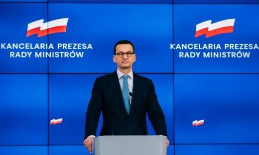 Premier Mateusz Morawiecki ogłasza nowe rozwiązania dla przedsiębiorców