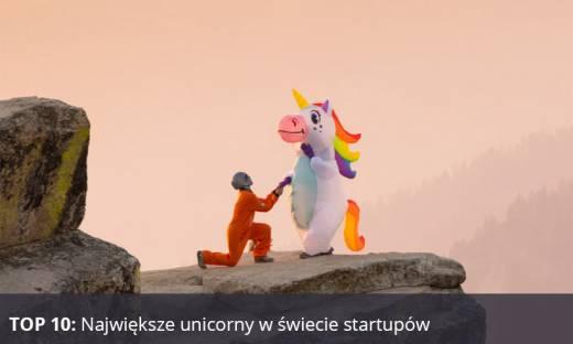 Jednorożce wśród startupów – poznaj 10 najwyżej wycenianych firm