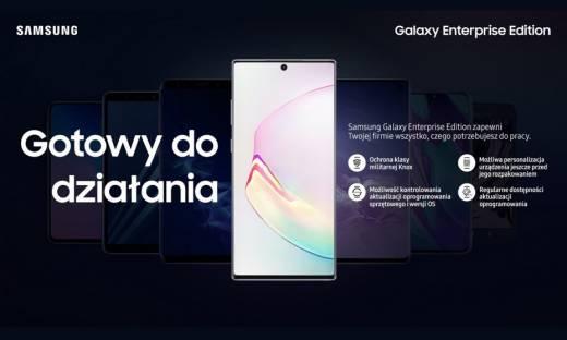 Bezpieczeństwo w czasach pracy zdalnej, czyli specjalne smartfony Samsunga