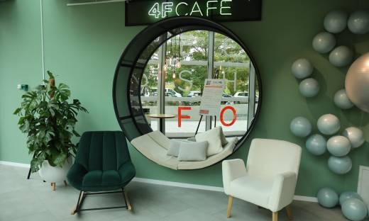 4FCAFE otwarte w Warszawie. To połączenie kawiarni, showroomu i sklepu