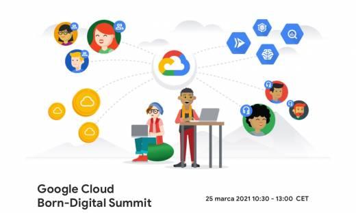 Wyprzedź konkurencję w wyścigu o budowę najlepszego startupu. Google Cloud Born-Digital Summit