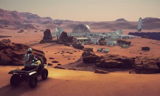Gra o podboju Marsa tworzona przez Pyramid Games podbija Steama