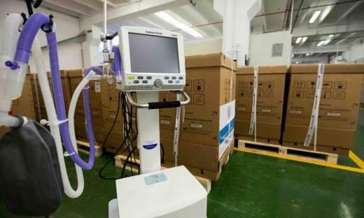 Polpharma dostarczyła respiratory do walki z pandemią Covid-19