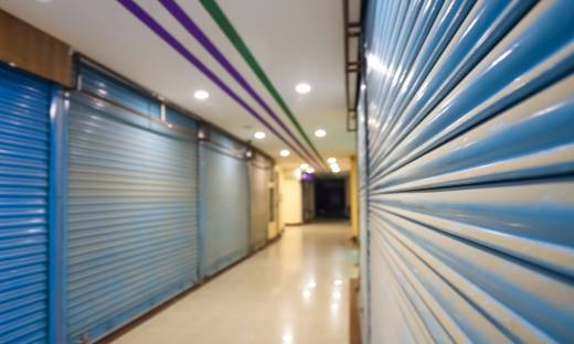Rośnie liczba pustych lokali w galeriach handlowych