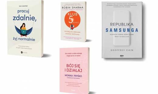 Książki przydatne dla przedsiębiorców. Na lepszą połowę lata