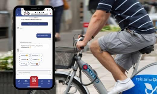 """Chatbot pomoże wypożyczyć rower. """"Automatyzacja części procesów jest kluczowa"""""""