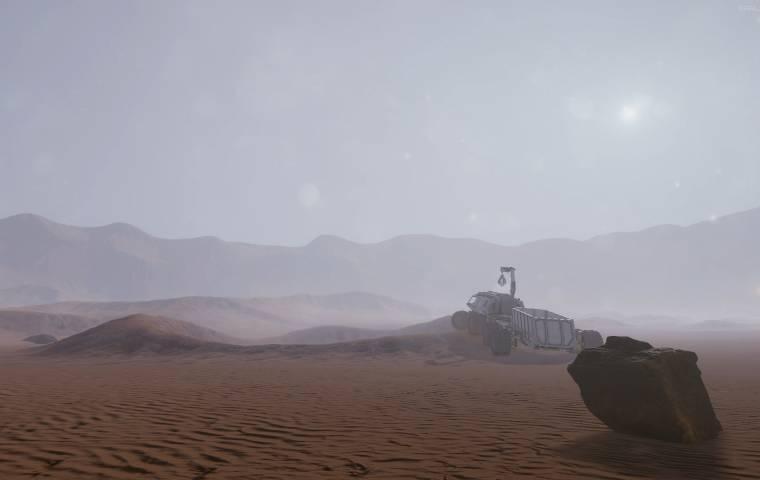Gry o kosmosie znów na topie. W planach m.in. symulator przetrwania na Marsie oraz naprawy łazików