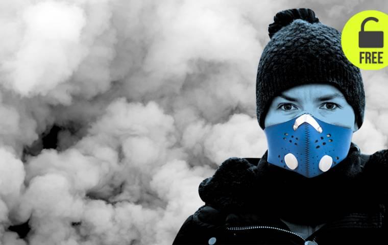 Smog zdrowo napędza biznes