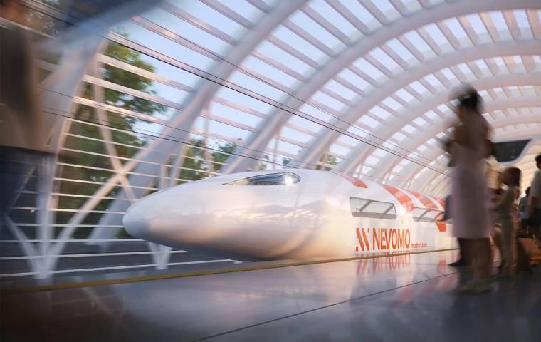 Nevomo umożliwi podróż z prędkością 550 km/h? Startup wchodzi na nowe rynki
