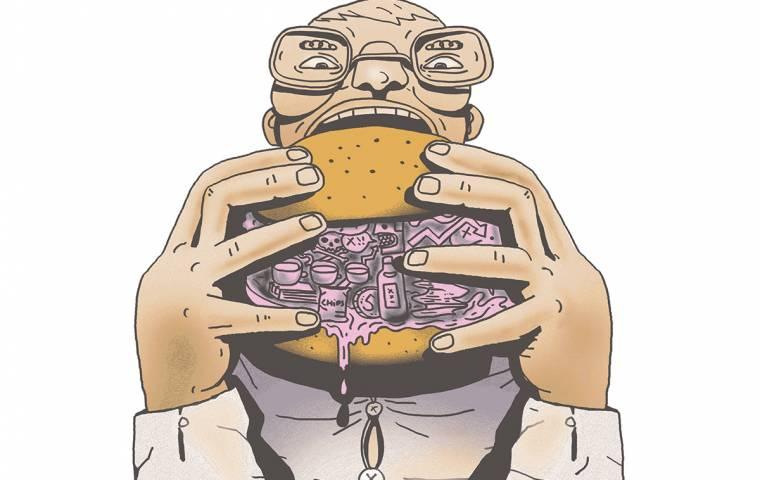 Syndrom niedopiętej koszuli - kiedy szef źle się odżywia