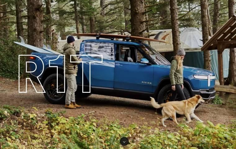 Rivian zbudował pierwszy elektryczny pickup przed Teslą, GM i Fordem
