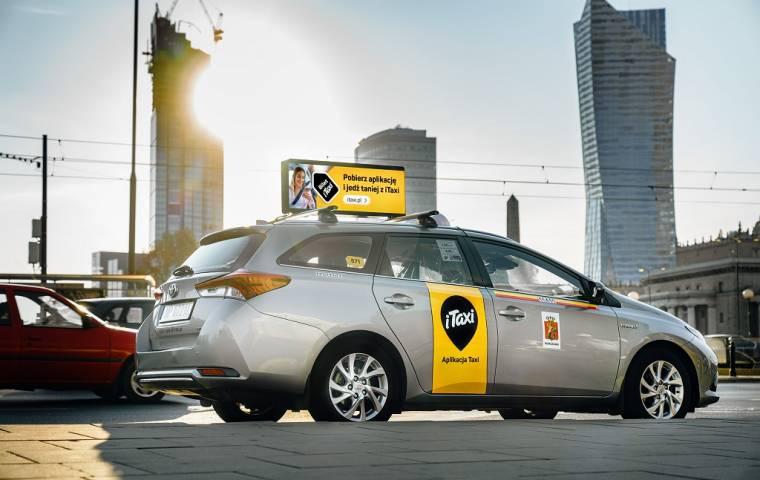 iTaxi wprowadza do Polski pierwszą mobilną sieć reklamową