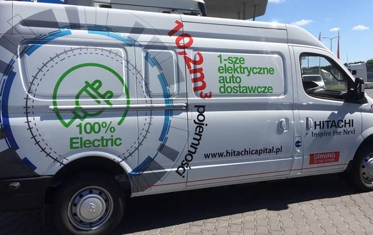 Maxus – elektryczny dostawczak