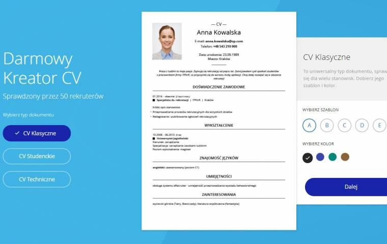 Jak napisać CV - sprawdzone porady i kreatory