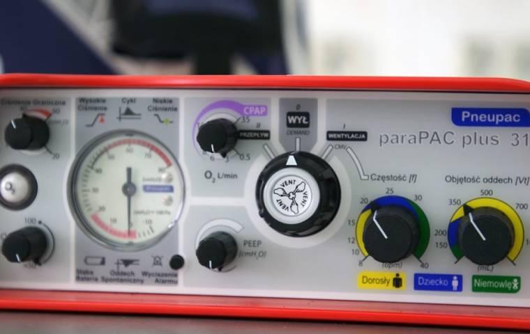 Caritas Polska we współpracy z Generali przekazuje respiratory dla polskich szpitali